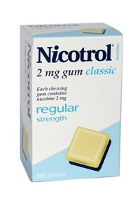 Nicotrol 2mg x 6 packs