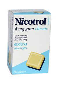 Nicotrol 4mg x 18 packs